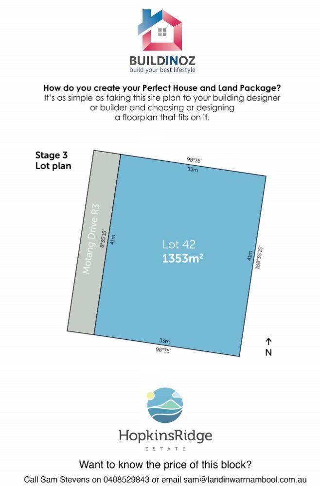 Stage 3 Lot 42 Hopkins Ridge Estate Warrnambool VIC 3280