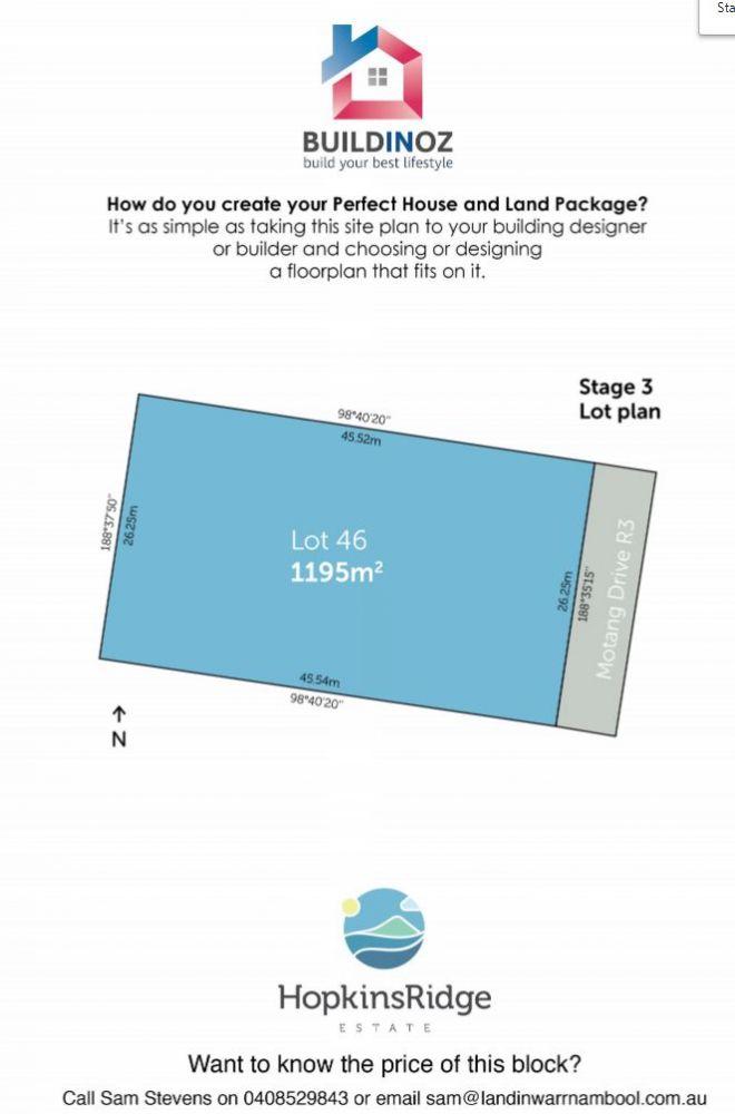 Stage 3 Lot 46 Hopkins Ridge Estate Warrnambool VIC 3280