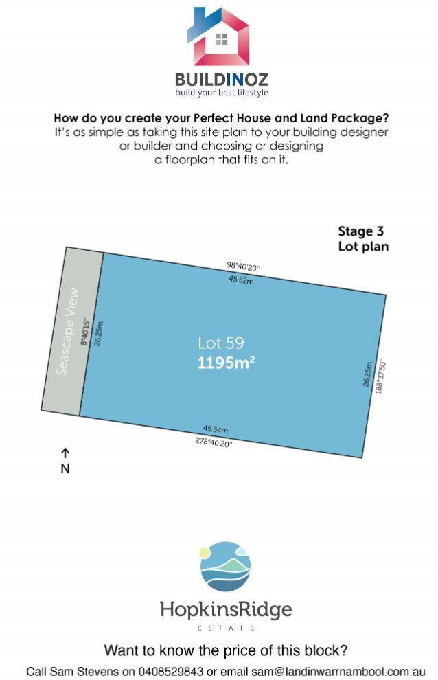 Stage 3 Lot 59 Hopkins Ridge Estate Warrnambool VIC 3280