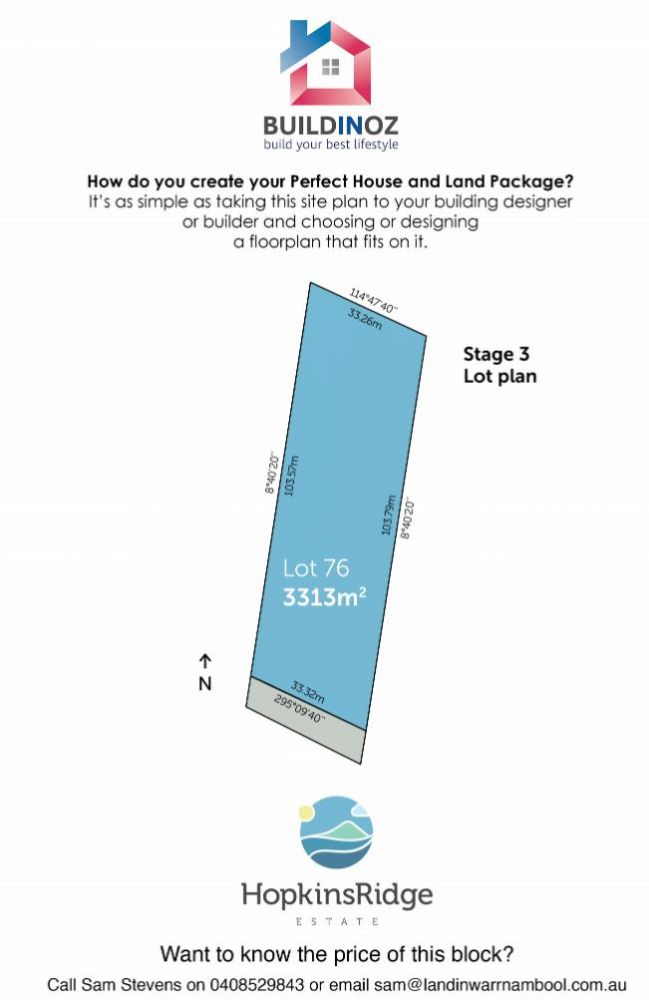 Stage 3 Lot 76 Hopkins Ridge Estate Warrnambool VIC 3280