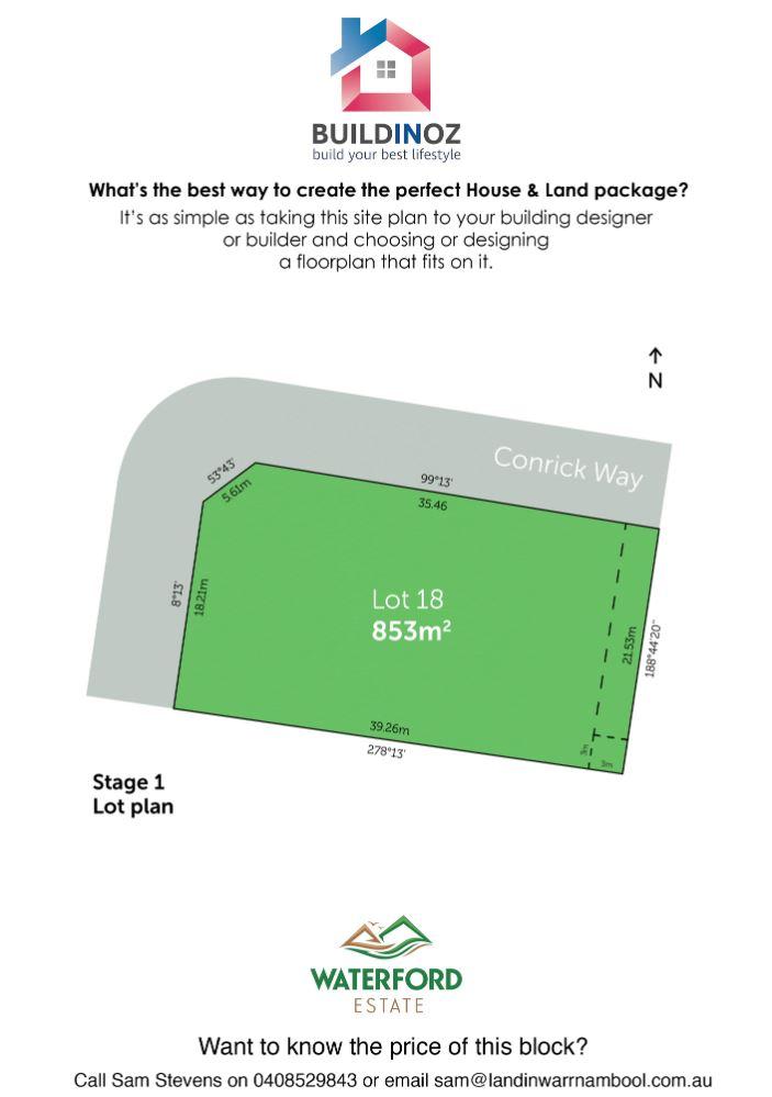 Stage 1 Lot 18 Waterford Estate Warrnambool VIC 3280