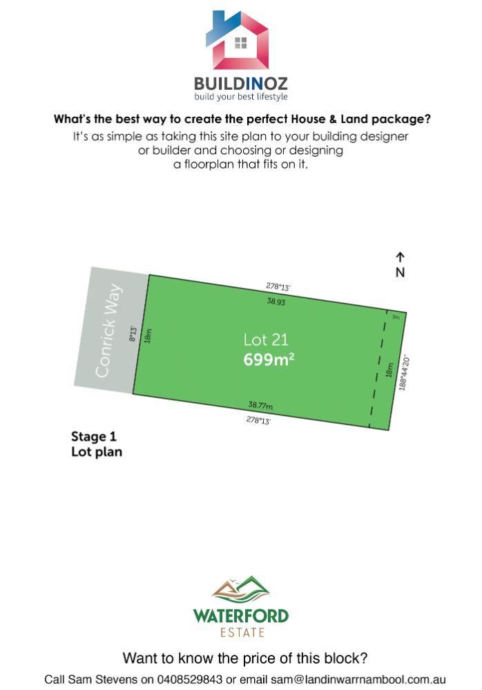Stage 1 Lot 21 Waterford Estate Warrnambool VIC 3280