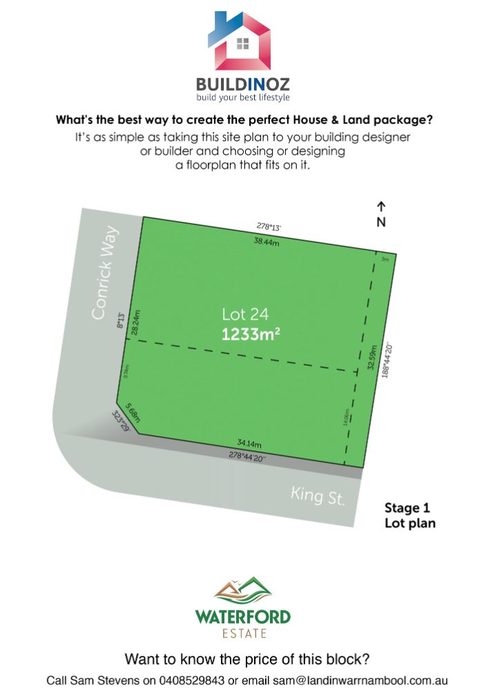 Stage 1 Lot 24 Waterford Estate Warrnambool VIC 3280